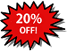 Picture of 20% OFF