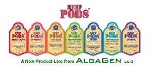 AlgaGen ReefPods,Live Foods for Feeding Saltwater Aquarium Fish, Corals, and Invertebrates.
