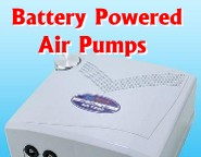 Battery Powered Aquarium Air Pumps